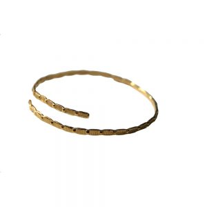 Seashell-bracelet-gld