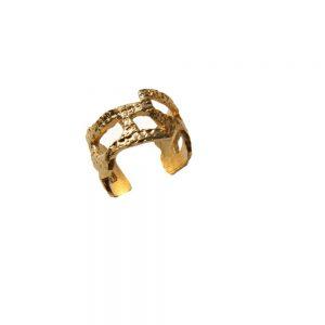 GEO ring gold