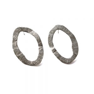 Oval-earings-silver-w
